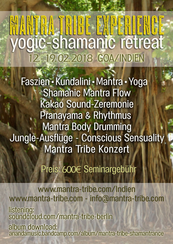 Mantra Tribe Indien Retreat