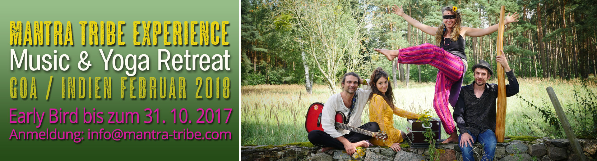 Mantra Tribe Experience (Retreat in Indien)