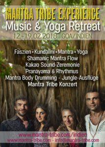 Yoga & Music Retreat mit Mantra Tribe